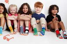 Kids Equality Socks - The 'Pals Socks' for Kids Come in Mismatched Pairs to Embrace Differences