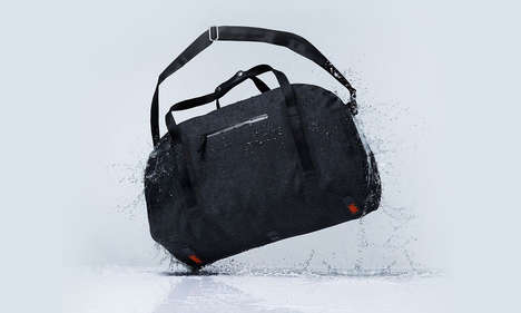 Welded Waterproof Bags - This Line of Bags and Backpacks Feature an Advanced Welding Technique
