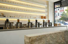Artisanal Tea Bars - San Francisco's Samovar Tea Bar Offers The Perfect Handcrafted Tea Brew