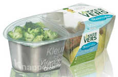 The Lekker Vers Frozen Packaging Sections Off Edibles