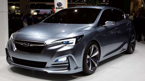 Five-Door Concept Cars - The Subaru Impreza 5-Door Concept Hints At the Future