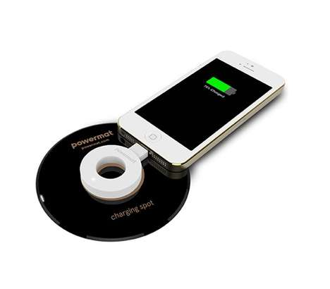 Phone-Powering Rings - The Powermat Ring is a Wireless Solution for Charging a Device