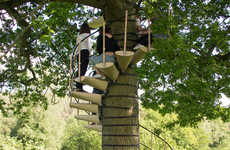 Spiral Tree Staircases