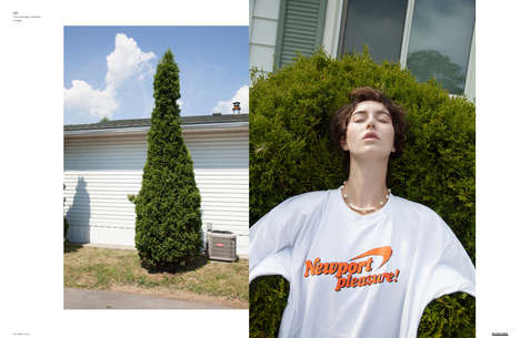 Candid Suburbia Editorials - The Ones 2 Watch 'Parklife' Exclusive Highlights Nostalgic Fashions