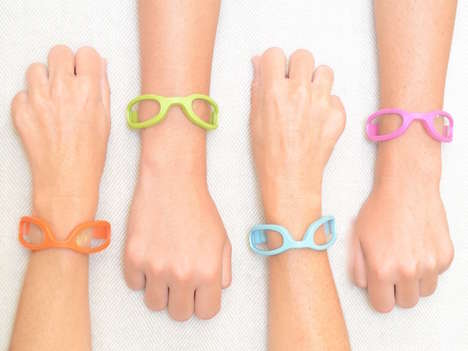 Reading Glasses Jewelry - The WristReaders by Off the Cuff Optics Keep Your Glasses Easily On-Hand