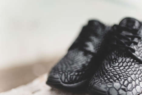 Textured Geometric Trainers - The Nike 'Roshe One DMB' Model Features a Frightening Scaly Design