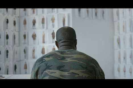 Rapper-Created Fashion Films - This Silent Documentary Depicts Kanye West's Creative Process