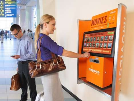 Top 50 Retail Ideas in November - From Friendly Retail Robots to Airport Movie Kiosks