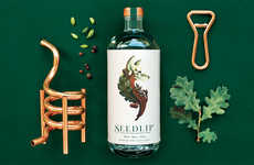 Citrusy Non-Alcoholic Spirits - This Brand Has Created the World's First Alcohol-Free Spirit