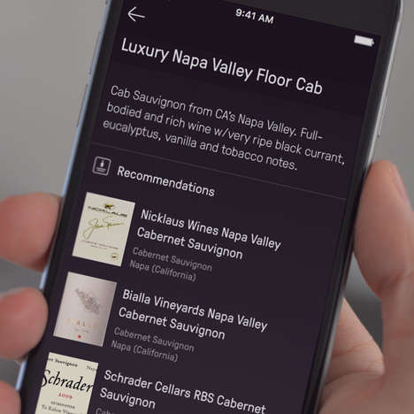 Wine-Curating Apps - This Smart App Will Offer Wine Recommendations Depending on Your Preferences