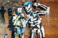 Police Brutality Awareness Art - This Mural by Anthony Lister Raises Awareness of Police Brutality