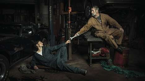Renaissance Mechanic Photos - Freddy Fabris' Photos Depict Auto Mechanics As Renaissance Subjects