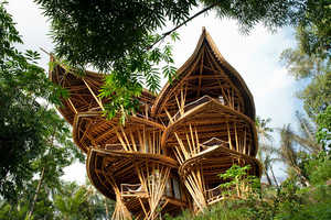 100 Examples of Eco-Friendly Architecture - From Vaulted Bamboo Pavilions to Recycled Waste Homes