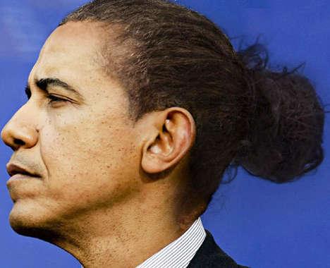 Presidential Man Buns
