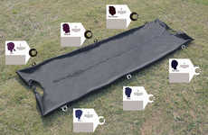 Categorized Body Bags - These Bags Uses a Classification Tag System to Avoid Constant Bag Openings