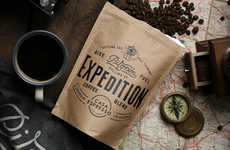 Cyclist-Specific Coffees - This Artisanal Coffee Blend is Specially Designed for Cyclists