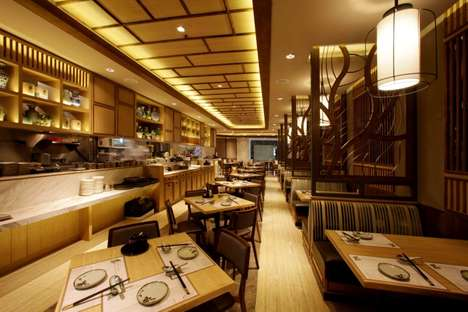 Contemporary Chinese Eateries - The 'Imperial Treasure' is Inspired by a Modern Chinese Architecture