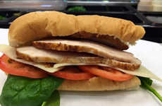 Rotisserie-Style Chicken Sandwiches - This Fast Food Sandwich Features High-Quality Cuts of Meat