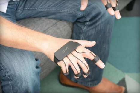Minimal Wearable Controllers - Gest is a Promising Tech Glove that is Lightweight and Adjustable