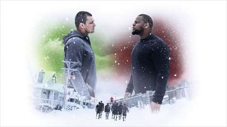 Adult Snow Day Ads - The 'Nike: Snow Day' Ad Features Iconic Athletes Enjoying Winter Sports