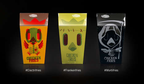 Spooky Fast Food Branding - These Burger King Halloween Packaging Designs Feature Ghosts & Ghouls