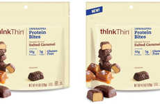 Chocolate-Covered Protein Snacks - These 'Protein Bites' are a Healthy On-The-Go Snack