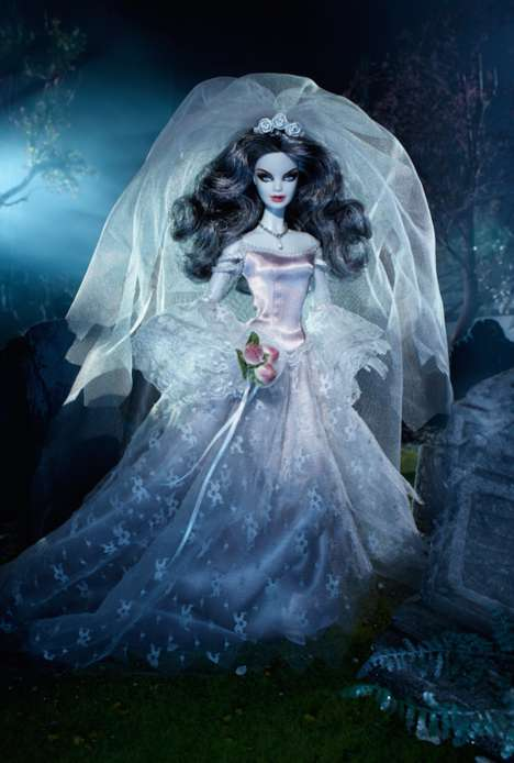 Elegant Zombie Dolls - This Zombie Barbie Doll is Both Beautiful and Terrifying
