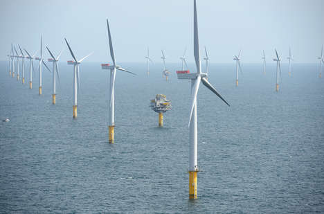Oceanic Wind Farms - 'Dong Energy' is Building the World's Biggest Wind Farm in the Irish Sea