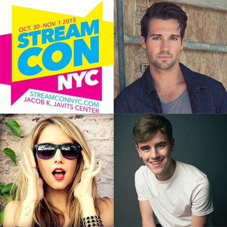 Digital Television Conventions - New York City's Stream Con Celebrates Internet Stars