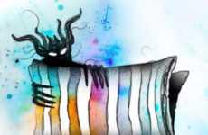 Nightmarish Book Art - The Release of 'Bazaar of Bad Dreams' Features Illustrated Nightmares