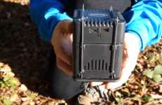 Camping Device Chargers - This Mini Generator Uses Any Heat Source to Re-Power Electronics