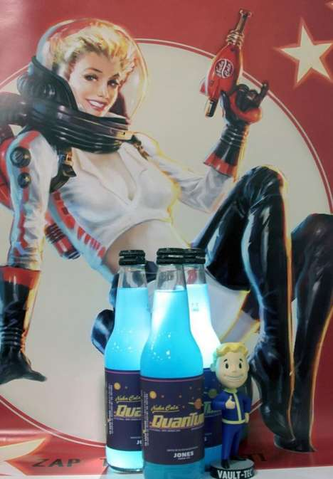 Gamer Space Sodas - The Nuka-Cola Quantum by Jones Soda Flavor Celebrates the Fallout 3 Game