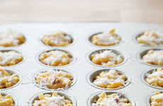 Bacon Macaroni Bites - These Easy to Make Macaroni and Cheese Cupcakes are Ideal for Portion Control
