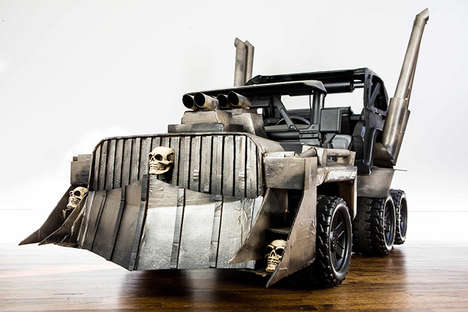 Cinematic Apocalypse Vehicles - This Children's Sized Mad Max: Fury Road Car is Perfect for Kids