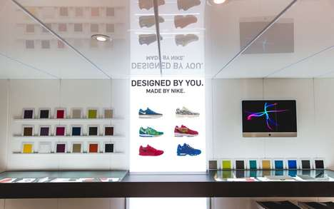 Customized Sneaker Expansions - Nike ID Comes to Canada in Time for the Holiday Season