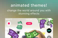 Animated Live Streaming Apps - This App Allows Users to Stream and Edit Live Videos Simultaneously