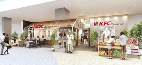 Japanese Chicken Buffets - The First-Ever All-You-Can-Eat KFC Buffet is Set to Open in Osaka, Japan