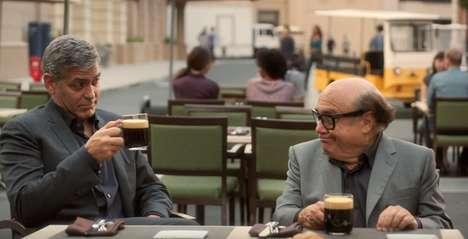Celebrity Coffee Ads - George Clooney Teaches Danny Devito Good Taste in This Nespresso Ad