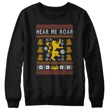 Fantasy Christmas Sweaters - These Sweater Designs are Based on the Game of Thrones Series