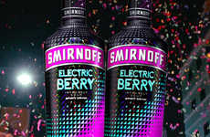 Vibrant Music-Inspired Liqueurs - The New 'Smirnoff Electric' Range Comes in Four Bold Flavors