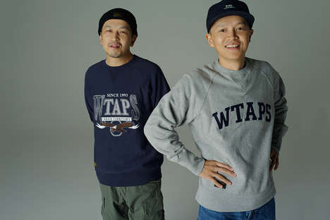 Japanese Rapper Lookbooks - Japanese Hip-Hop Trio 'Scha Dara Parr' Models for WTAPS in This Lookbook