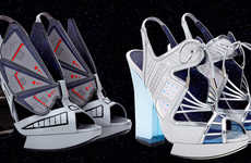 Couture Sci-Fi Shoes