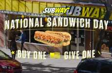Celebratory Sandwich Promotions - This Promotional Campaign Celebrates 'National Sandwich Day'