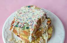 Cake Batter French Toast - This Recipe Turns a Classic Birthday Dessert into a Sweet Breakfast Treat