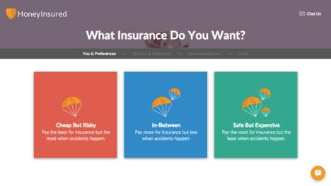 Simplified Insurance Apps - This App Reduces Picking an Insurance Plan to Four Simple Questions