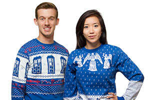 These Ugly Sweaters are Perfect for a Christmastime Doctor Who Marathon