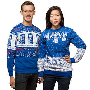 Sci-Fi Holiday Sweaters - These Ugly Sweaters are Perfect for a Christmastime Doctor Who Marathon