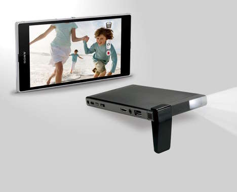 Pocket-Sized Projectors