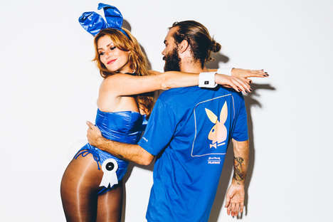 Naughty Bunny-Themed Fashions - This Clothing & Accessory Collection is from Playboy and Good Worth