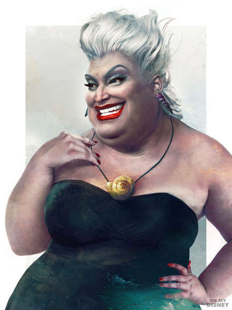 Realistic Disney Villains - This Series Explores What Iconic Villains Would Look Like in Real Life